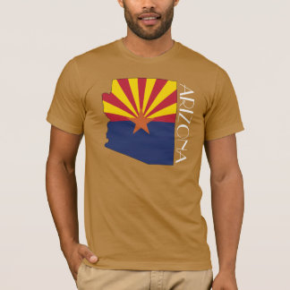Camisa do Bandeira-Mapa da arizona