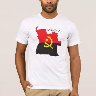 Camisa do Bandeira-Mapa de Angola