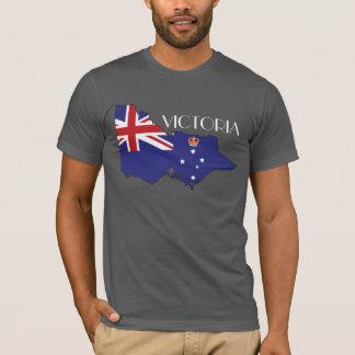 Camisa do Bandeira-Mapa de Victoria