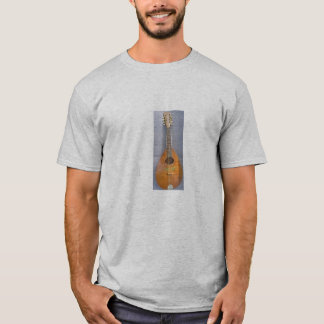 Camisa do bandolim do vintage