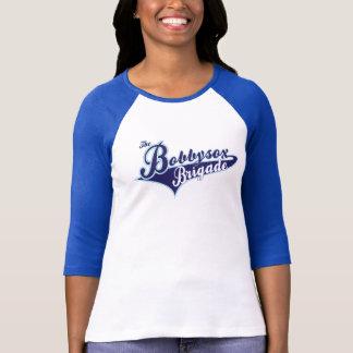 Camisa do basebol da brigada da marca das senhoras