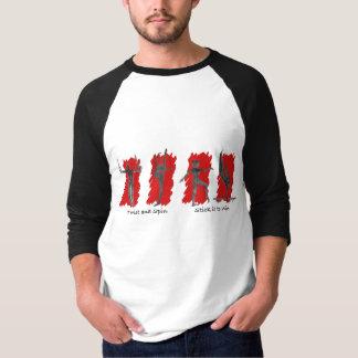 Camisa do basebol da ginástica