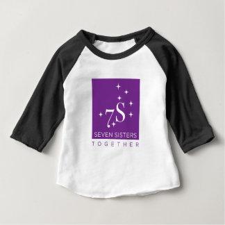 Camisa do basebol de sete miúdos das irmãs!