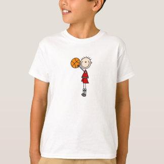 Camisa do basquetebol dos meninos do tiro