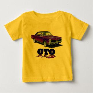 """Camisa do bebê com de """"design Pontiac GTO"""""""