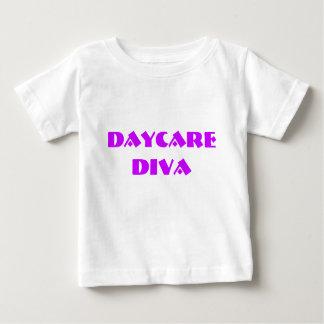Camisa do bebê da DIVA da GUARDA de Sassydog