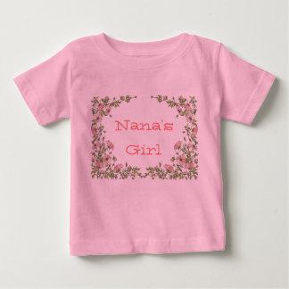 Camisa do bebê da menina da avó de Nana