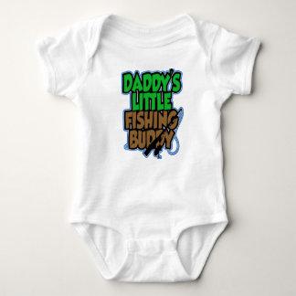 Camisa do bebê do amigo da pesca de Daddys