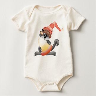 Camisa do bebê do Dia das Bruxas da doçura ou