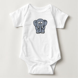 camisa do bebê do elefante
