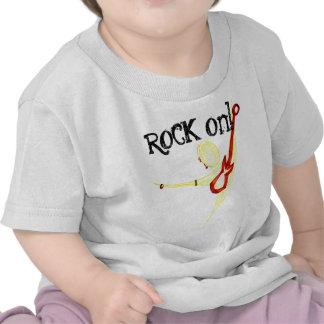 Camisa do bebê do gajo da rocha t-shirt