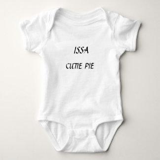 Camisa do bebê do ISSA