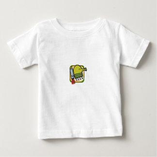 Camisa do bebê do salto do Doodle