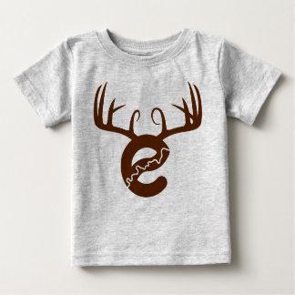 Camisa do bebê dos cervos de Yeg