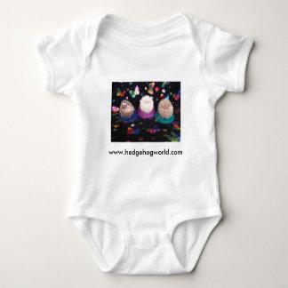Camisa do bebê dos ouriços do bebê camisetas