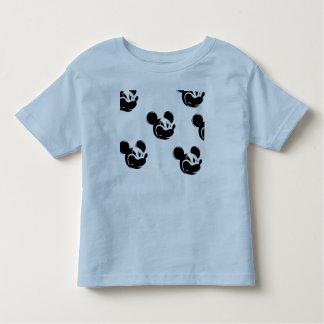 Camisa do bebê t de Mickey