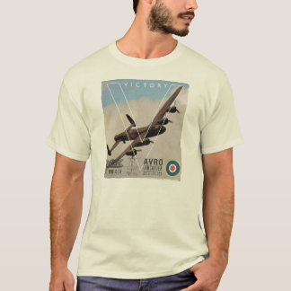Camisa do bombardeiro T de Avro Lancaster WW11
