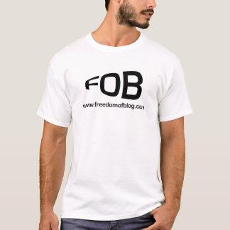 Camisa do branco do FOB