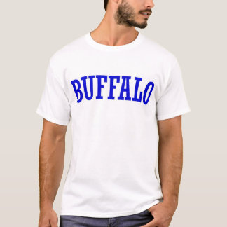 Camisa do búfalo T