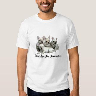 Camisa do buldogue francês t-shirt