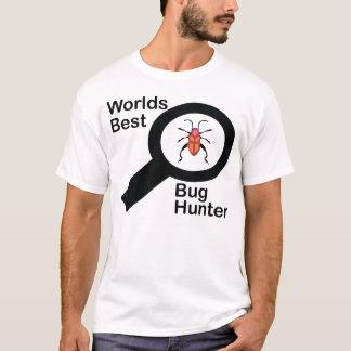 Camisa do caçador T do inseto dos mundos a melhor