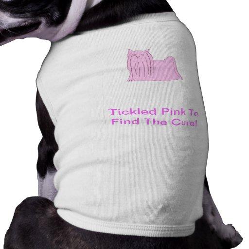 Camisa do cachorrinho do yorkshire terrier roupa para caes