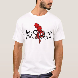 Camisa do calamar do ar