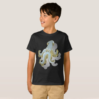Camisa do calamar T