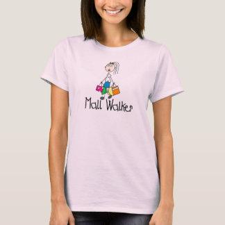 Camisa do caminhante da alameda