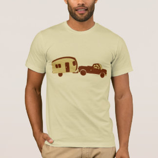 Camisa do campista do vintage