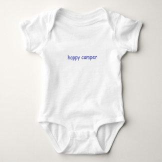 Camisa do campista feliz