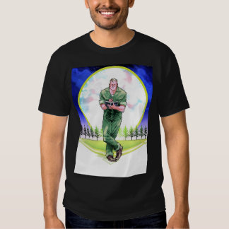 Camisa do campo T do Huck Tshirts