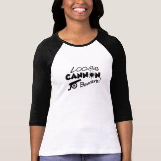 Camisa do canhão fraco - escolha o estilo & a cor