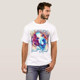 Camisa do cão de Basset