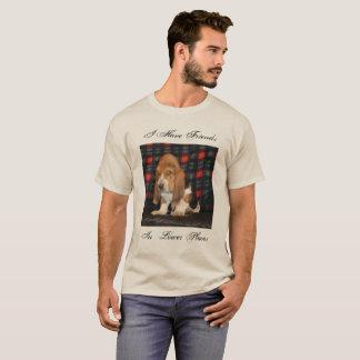 Camisa do cão de Basset T