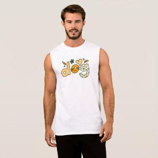Camisa do cão t