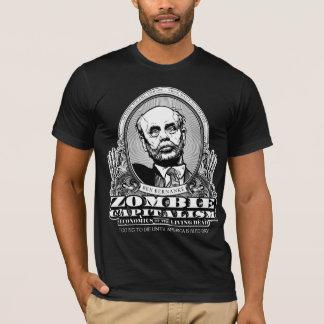 Camisa do capitalismo do zombi