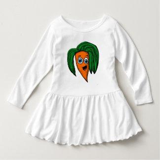 Camisa do caráter da cenoura dos desenhos animados
