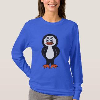 Camisa do caráter do pinguim