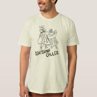 Camisa do casal da dança do chamador do cavalheiro