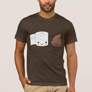 Camisa do casal T do banho