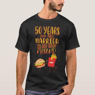 Camisa do casal T por 50 anos de aniversário