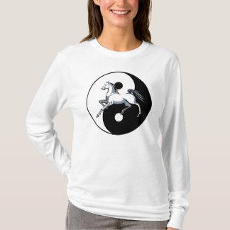 Camisa do cavalo de Yin Yang