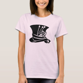 Camisa do chapéu do Hatter louco