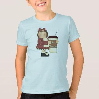 Camisa do chocolate quente T dos miúdos