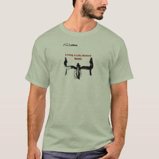 Camisa do ciclismo T - atrás dos bares
