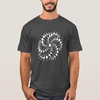 """""""Camisa do círculo da colheita do fluxo Camiseta"""