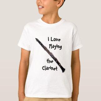 Camisa do clarinete - amor de I que joga o