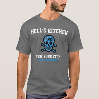 Camisa do código postal da cozinha do inferno