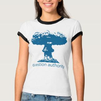 Camisa do cogumelo atómico da autoridade da